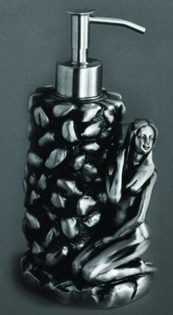Дозатор мыла Art&Max Juno AM-B-0071A-T настольный серебро