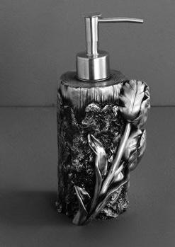 Дозатор мыла Art&Max Tulip AM-B-0082A-T настольный серебро