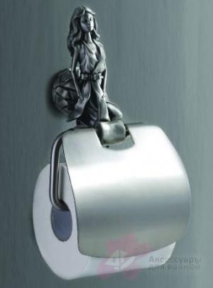 Держатель туалетной бумаги Art&Max Athena AM-B-0619-T настенный серебро