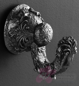 Крючок  Art&Max Sculpture  AM-0682-T серебро