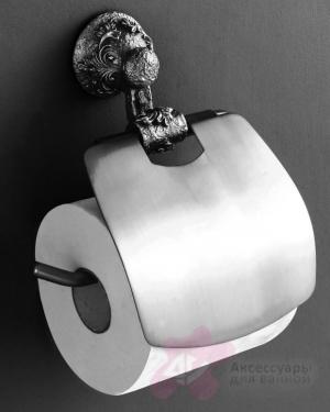 Держатель туалетной бумаги Art&Max Sculpture AM-B-0689-T настенный серебро