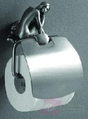 Держатель туалетной бумаги Art&Max Juno AM-B-0719-T настенный серебро