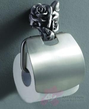 Держатель туалетной бумаги Art&Max Rose AM-B-0919-T настенный серебро