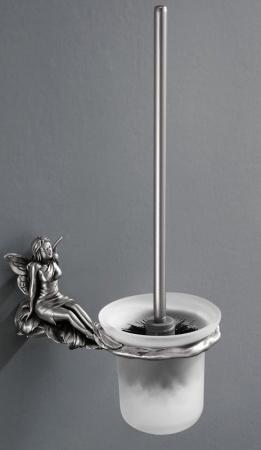 Eршик Art&Max Fairy AM-B-0981-T для унитаза настенный серебро