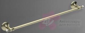 Полотенцедержатель Art&Max Antic Crystal AM-E-2624SJ-Cr одинарный хром