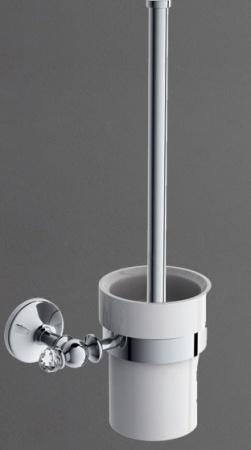 Ершик Art&Max Antic Crystal AM-E-2681SJ-Cr для унитаза хром
