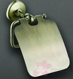 Держатель туалетной бумаги Art&Max Antic AM-E-2683Q двойной бронза