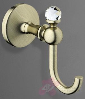 Крючок  Art&Max Antic Crystal  AM-2686BSJ-Cr  хром
