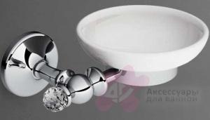 Мыльница Art&Max Antic Crystal AM-E-2699ASJ-Cr настенная хром