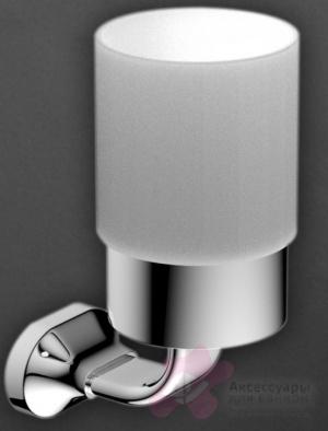 Стакан Art&Max Ovale AM-4068 настенный хром