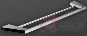 Полотенцедержатель Art&Max Techno AM-E-4148 двойной хром