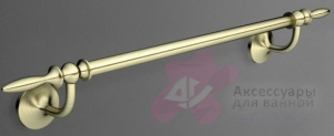 Полотенцедержатель Art&Max Bohemia AM-E-4224-Cr одинарный хром