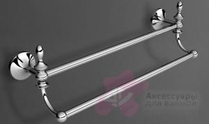 Полотенцедержатель Art&Max Bohemia AM-E-4248-Cr двойной хром