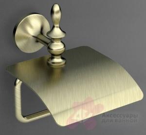Держатель туалетной бумаги Art&Max Bohemia AM-E-4283-Cr настенный хром