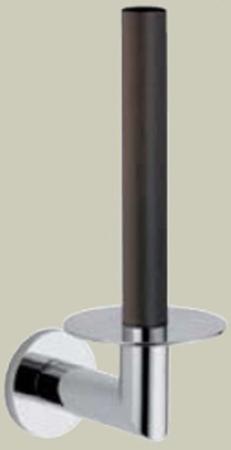 Бумагодержатель Bagno&Associati Ambiente Elite wenge AX 233 вертикальный хром / wenge