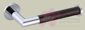 Бумагодержатель Bagno&Associati Ambiente Elite wenge AX 235 открытый хром / wenge