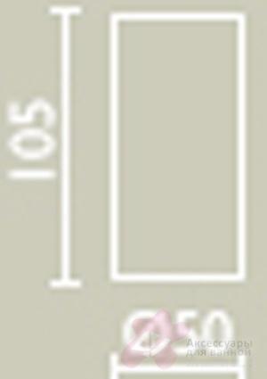 Ваза Bango&Associati Ambiente Elite AZ 865 хром