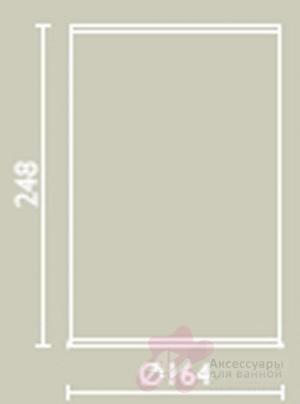 Ведро Bagno&Associati Ambiente Elite AZ 866 для мусора хром