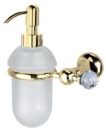 Дозатор для жидкого мыла Bagno&Associati Folie FS12751 SW настенный хром / Swarovski