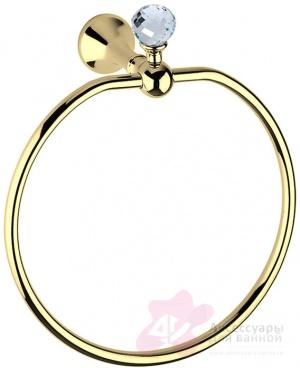 Полотенцедержатель Bagno&Associati Folie FS 21351 SW кольцо хром / Swarovski