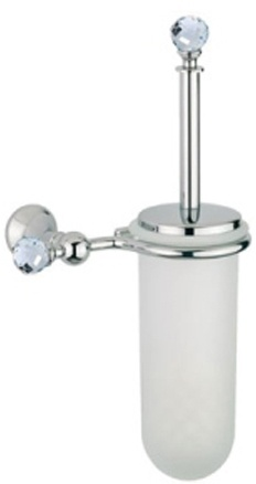 Ерш Bagno&Associati Folie FS22351 SW для туалета настенный хром / Swarovski