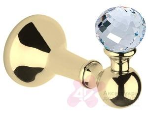 Крючок Bagno&Associati Folie FS 241.51 SW одинарный хром / Swarovski