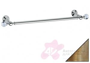 Полотенцедержатель Bagno&Associati Folie FS 21251 SW одинарный 60 см хром / Swarovski
