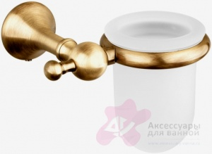 Стакан Bagno&Associati Regency RE14551 подвесной хром / стекло матовое