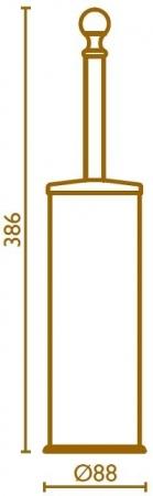 Ершик Bagno&Associati Regency RE25351 напольный хром