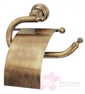 Бумагодержатель Bandini Antica Classic 691/00 CR закрытый хром
