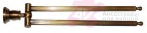 Полотенцедержатель Bandini Antica Classic 6932/00 CR двойной хром