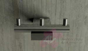Крючок Bandini Bamboo 697.700 CR тройной хром
