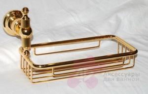 Мыльница Bandini Antica Classic 699/00 CR решетка хром