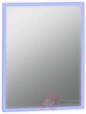 Зеркало Bemeta Hotel 127201679 с подсветкой 60 х h80 см хром