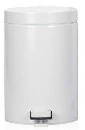 Ведро мусорное Brabantia 109348 с педалью (3 литра White (белый