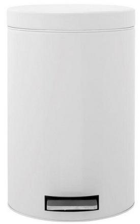 Ведро мусорное Brabantia 127021 с педалью (12 литров White (белый