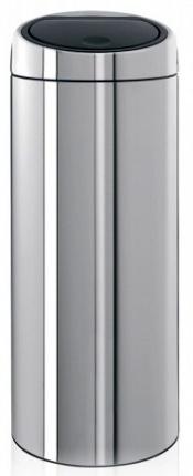 Ведро мусорное Brabantia 287367 Touch Bin (30 литров Brilliant Steel (сталь полированная