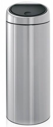 Ведро мусорное Brabantia 288647 Touch Bin (30 литров Matt Steel (сталь матовая