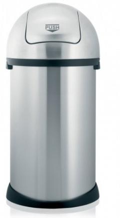 Ведро мусорное Brabantia Puch Bin 484520 (50 литров Matt Steel (сталь матовая
