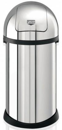 Ведро мусорное Brabantia Puch Bin 348501 (50 литров Brilliant Steel (сталь полированная