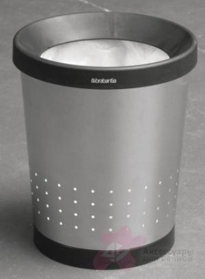 Корзина Brabantia 364341 для бумаг (11 литров Matt Steel (сталь матовая