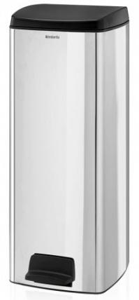 Ведро мусорное Brabantia 369384 прямоугольное (25 литров Brilliant Steel (сталь полированная