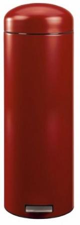 Ведро мусорное Brabantia Retro Slim 377723 с педалью (20 литров Deep Red (темно-красный