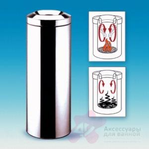 Корзина Brabantia 378560 для бумаг (30 литров несгораемая Matt Steel (сталь матовая
