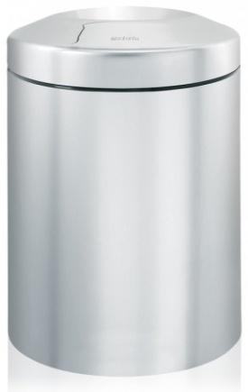 Корзина Brabantia 378942 для бумаг (7 литров несгораемая Matt Steel (сталь матовая