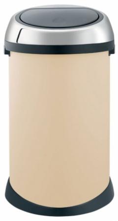 Ведро мусорное Brabantia 380402 Touch Bin (50 литров Almond (миндальный
