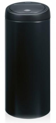Ведро мусорное Brabantia 391743 Touch Bin (30 литров Matt Black (черный матовый