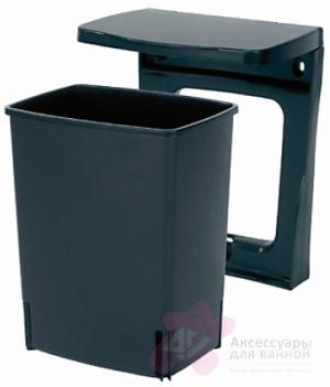 Ведро мусорное Brabantia 395246 (10 литров встраиваемое Black (черный