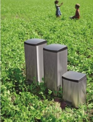 Ведро мусорное Brabantia 395642 с педалью (10 литров Matt Steel (сталь матовая