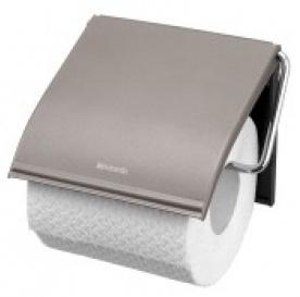 Бумагодержатель Brabantia 414589 с крышкой Brilliant Steel (сталь полированная
